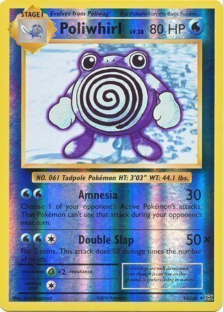 Poliwhirl – 24/108 – Reverse Holo