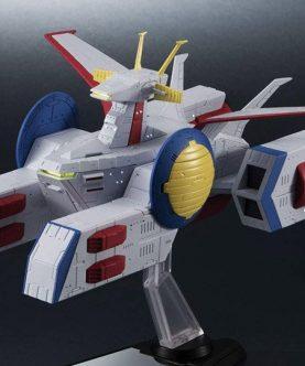 Gundam Kikan Taizen E.F.S.F. Pegasus Class Assault Landing Craft White Base 1-1700 Scale Ship-1-JToys