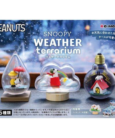 Peanuts SNOOPY WEATHER Terrarium 1Box (6pcs)-1-JToys