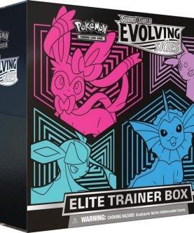 POKÉMON TCG Sword and Shield - Evolving Skies Elite Trainer Box-1-JToys