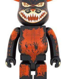 MEDICOM TOY BE@RBRICK Godzilla VS Destroyer version Godzilla (Meltdown Clear Orange Ver.)1000% Bearbrick?Pre-Order?-1-JToys