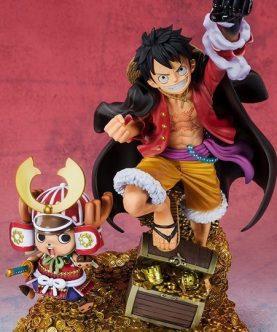 One Piece FiguartsZERO Monkey D. Luffy (WT100 Commemorative Daikaizoku Hyakkei)-1-JToys