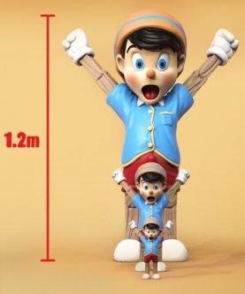 Mighty Jaxx LIFE-SIZE A Wood Awakening By Juce Gace 1.2 Meter Designer Vinyl Figure【PRE-ORDER】-1-JToys
